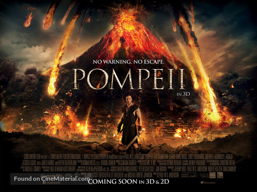 Pompeii - British Movie Poster