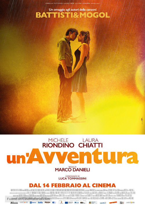 Un'avventura - Italian Movie Poster