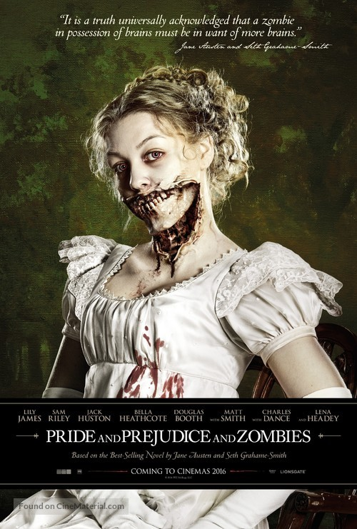 Pride and Prejudice and Zombies - Movie Poster