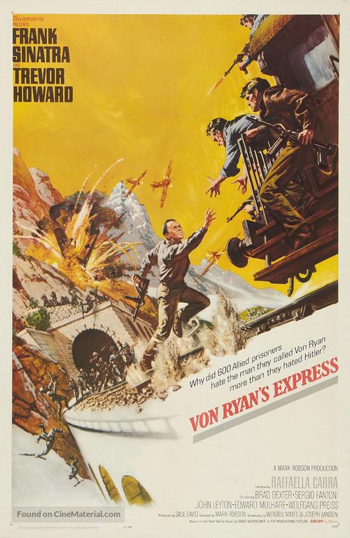Von Ryan's Express - Movie Poster