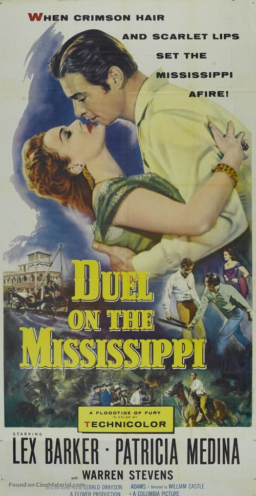 Duel on the Mississippi - Movie Poster