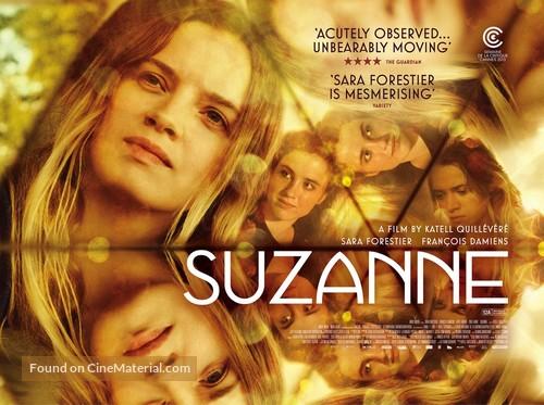 Suzanne - British Movie Poster