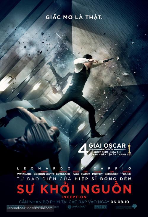 Inception - Vietnamese Movie Poster