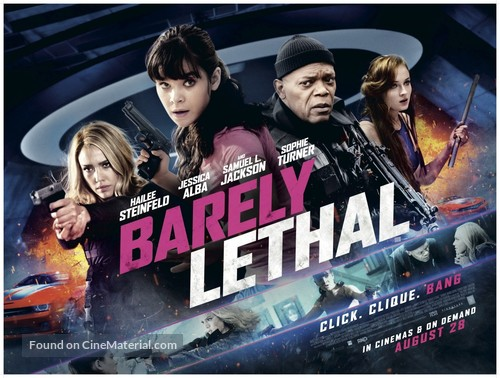 Barely Lethal - British Movie Poster