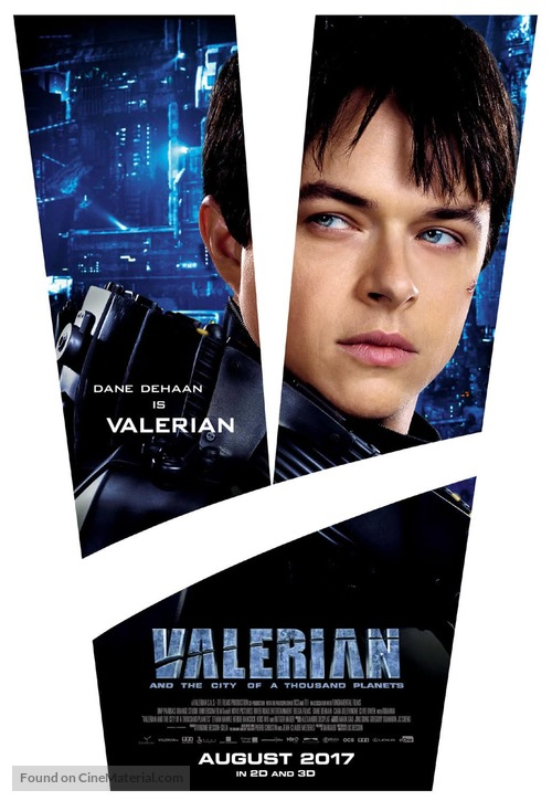 Valerian and the City of a Thousand Planets - Australian Movie Poster