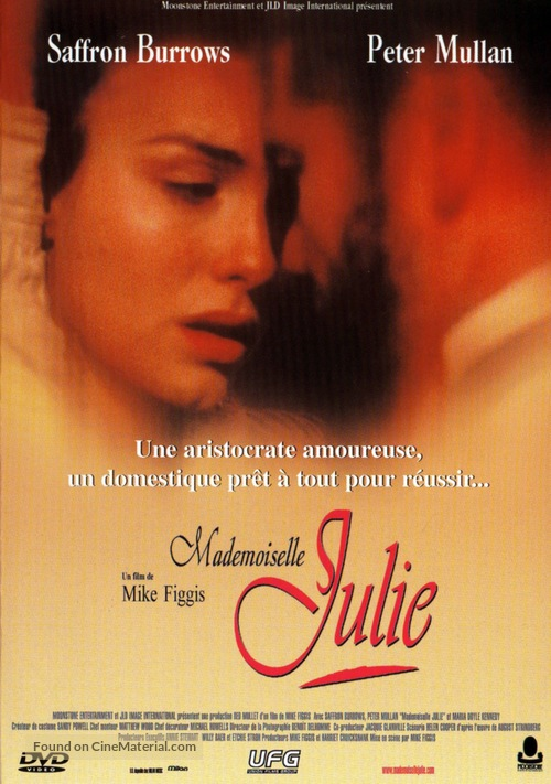 Miss Julie - French DVD cover
