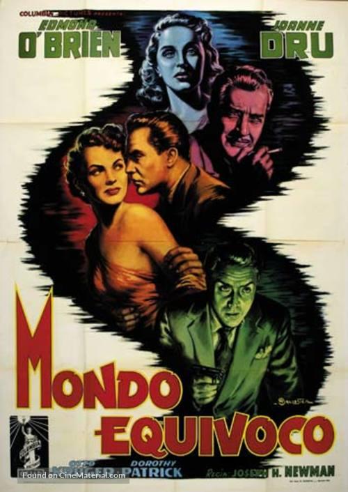 711 Ocean Drive - Italian Movie Poster
