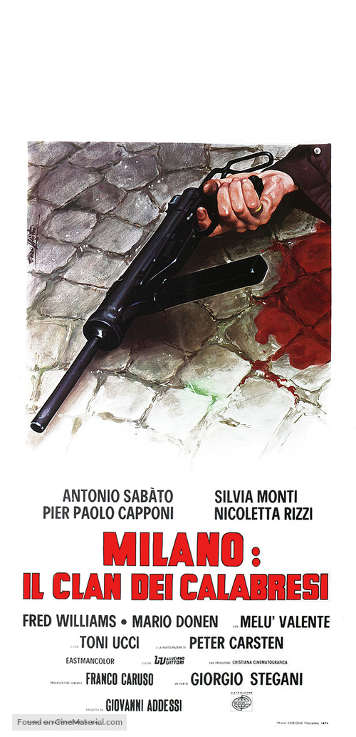 Milano: il clan dei Calabresi - Italian Movie Poster