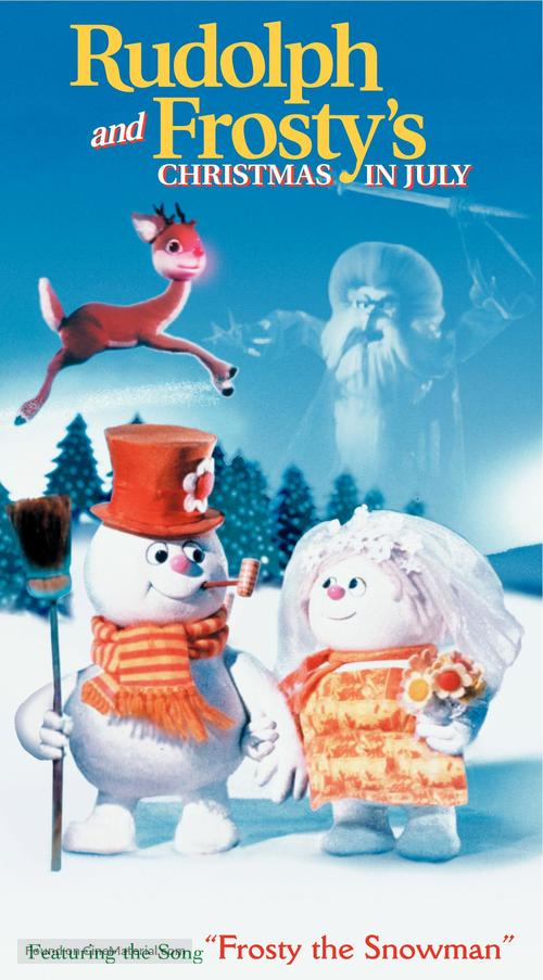 Rudolph And Frostys Christmas In July Dvd.Rudolph And Frosty S Christmas In July 1979 Movie Cover