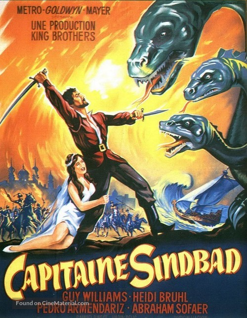 Captain Sindbad - French poster