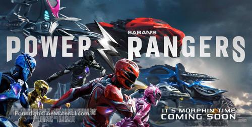 Power Rangers - British Movie Poster