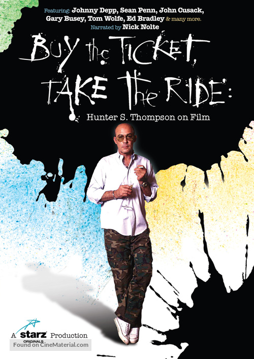 Buy the Ticket, Take the Ride: Hunter S. Thompson on Film - Movie Poster