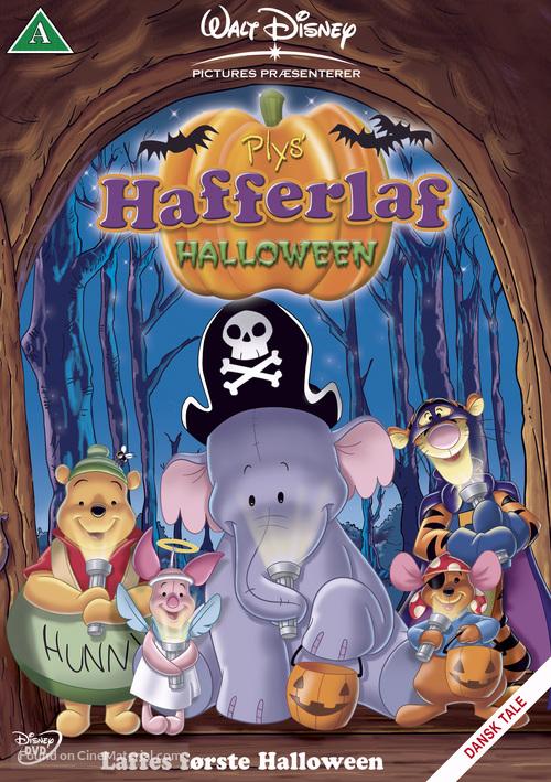poohs heffalump halloween movie danish dvd cover