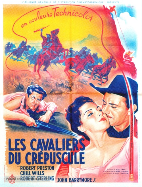 The Sundowners - French Movie Poster
