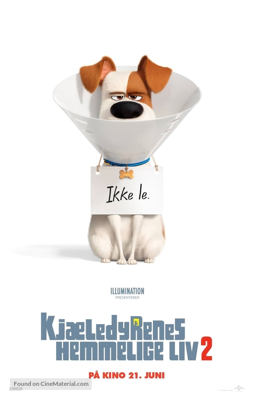 The Secret Life of Pets 2 - Norwegian Movie Poster