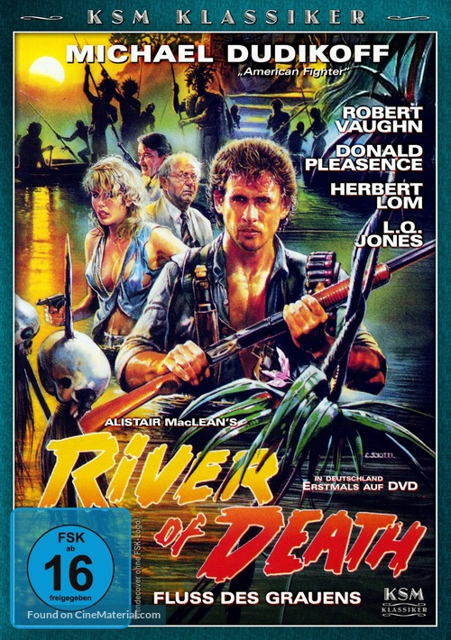 River of Death - German Movie Cover