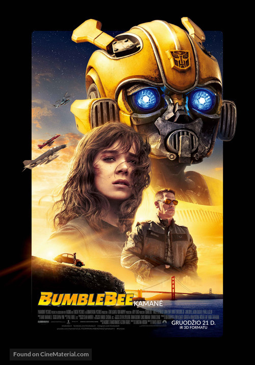 Bumblebee - Lithuanian Movie Poster