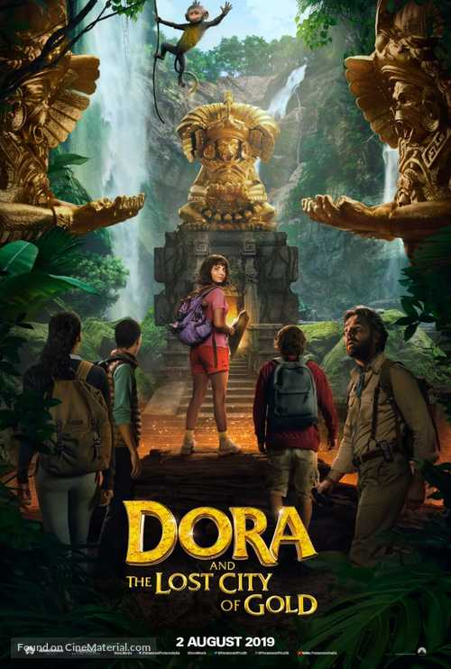 Dora and the Lost City of Gold - Indian Movie Poster