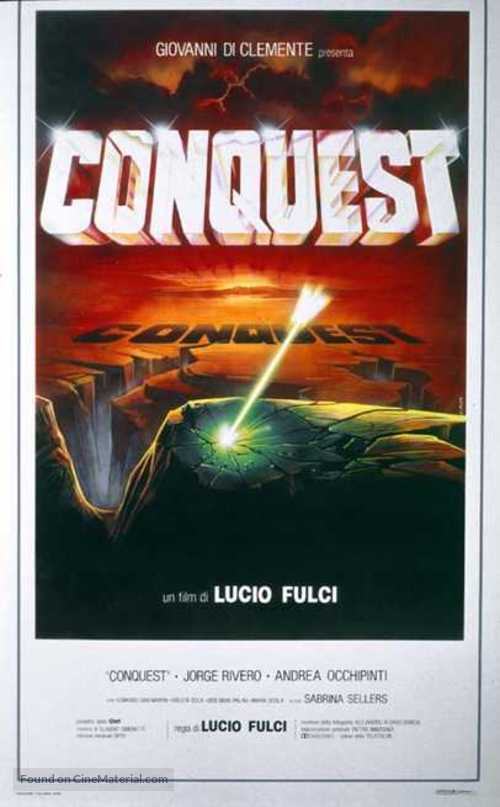 Conquest - Italian Movie Poster