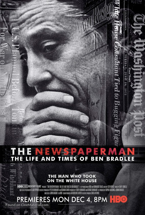 The Newspaperman: The Life and Times of Ben Bradlee - Movie Poster