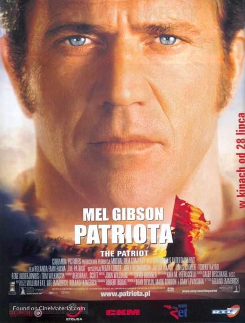 The Patriot - Polish Advance movie poster