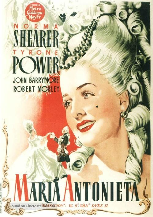 Marie Antoinette - Spanish Movie Poster