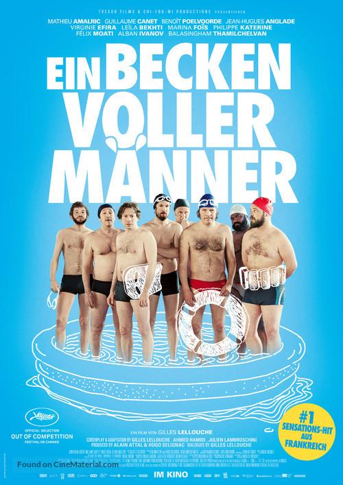 Le grand bain - German Movie Poster