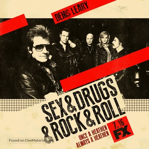 """Sex&Drugs&Rock&Roll"" - Movie Poster"
