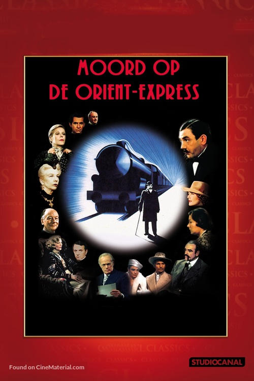 Murder on the Orient Express - Dutch Movie Cover