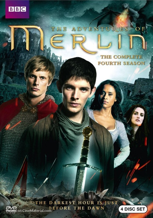 """Merlin"" - DVD cover"