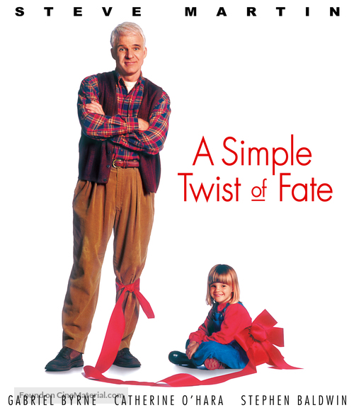 A Simple Twist of Fate - Blu-Ray movie cover