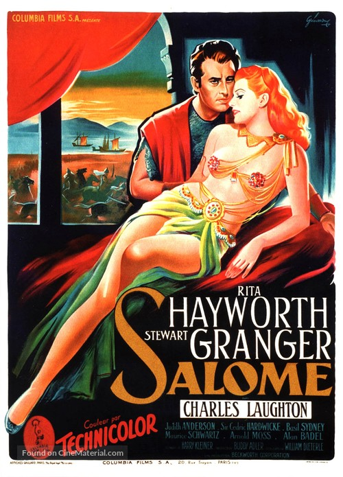Salome - French Movie Poster