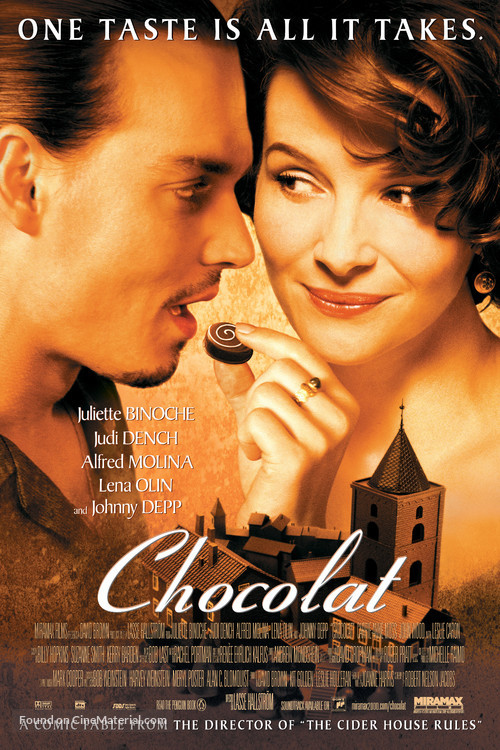 Chocolat - Movie Poster