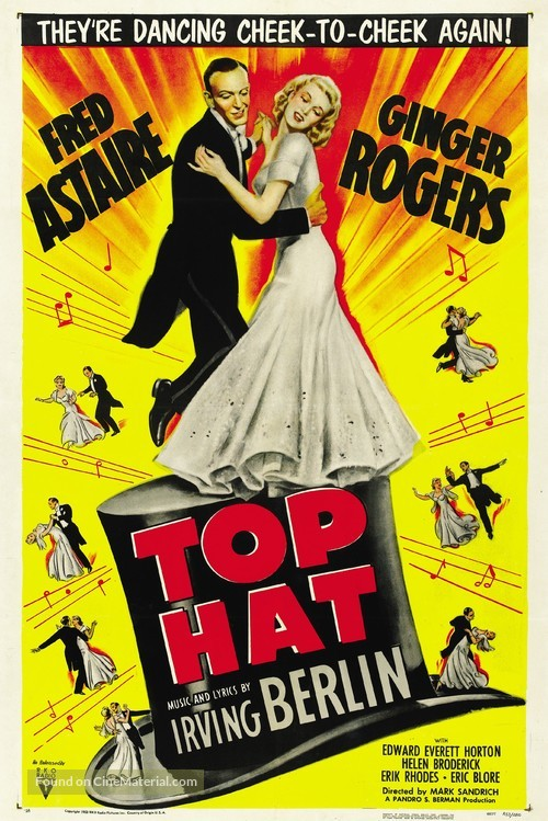 Top Hat - Movie Poster