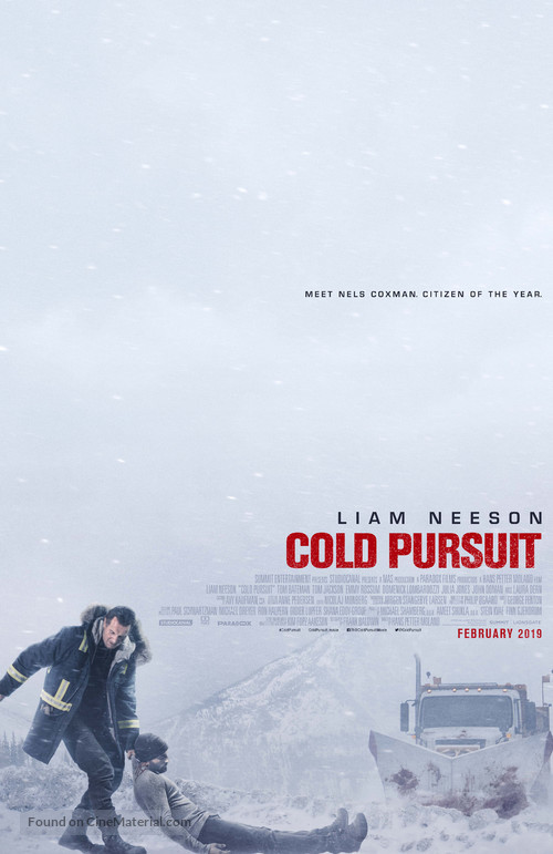 Cold Pursuit - Movie Poster