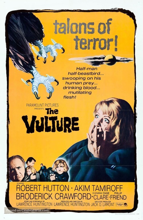 The Vulture - Movie Poster