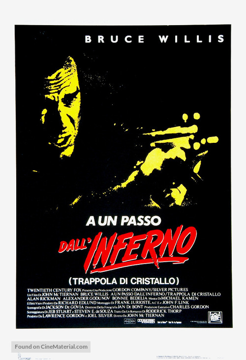Die Hard - Italian Movie Poster