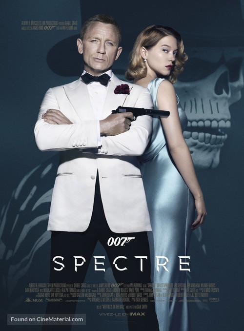 Spectre - French Movie Poster