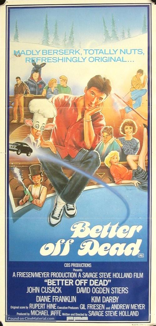 Better Off Dead... - Australian Movie Poster