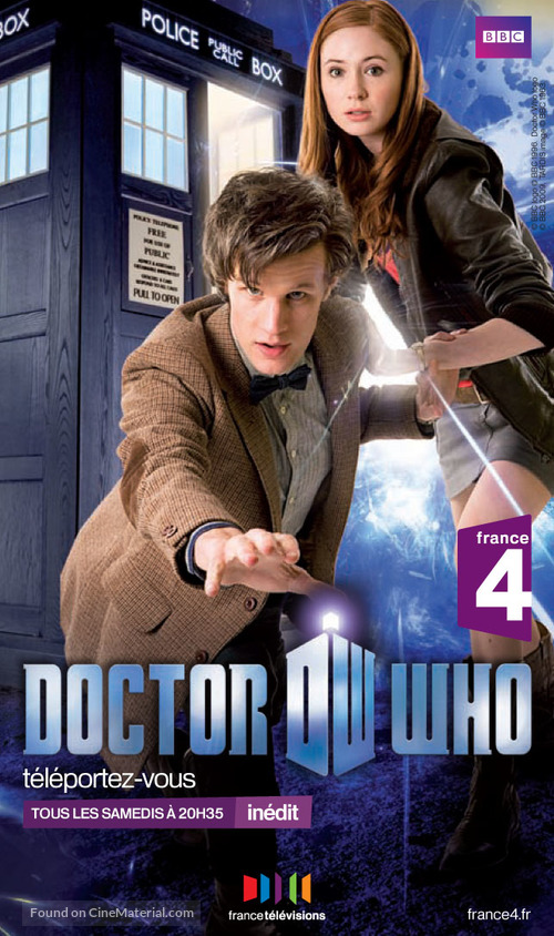 """""""Doctor Who"""" - French Movie Poster"""