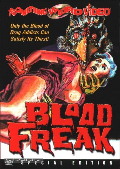 Blood Freak - DVD movie cover