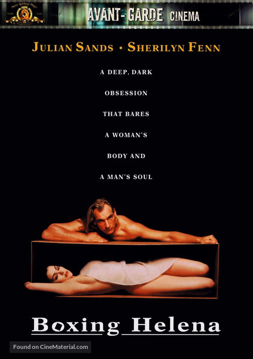 Boxing Helena - DVD movie cover