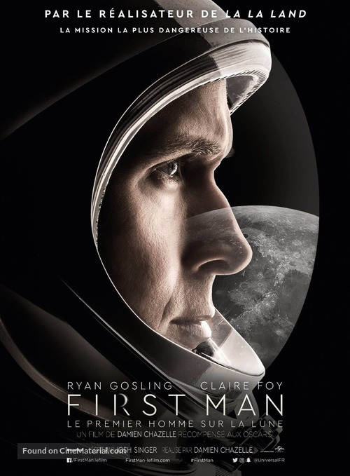 First Man - French Movie Poster