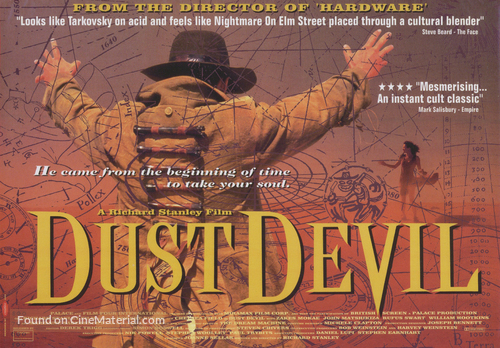 Dust Devil - British Movie Poster