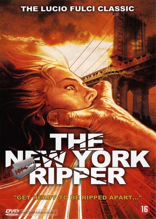 Lo squartatore di New York - Dutch DVD movie cover