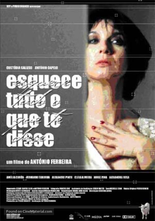 Esquece Tudo O Que Te Disse - Portuguese Movie Cover