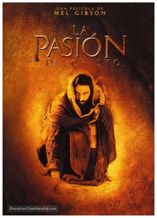 The Passion of the Christ Spanish movie poster