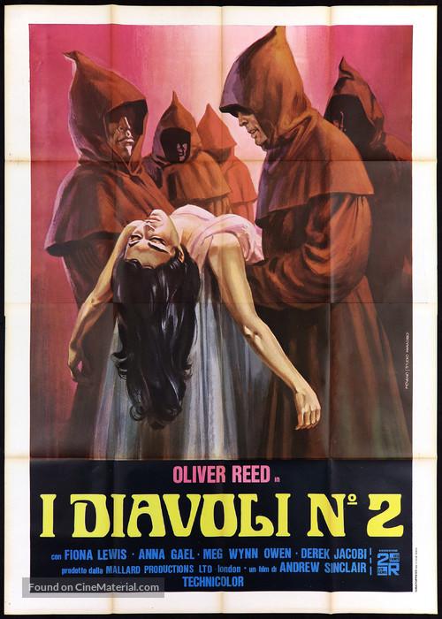 Blue Blood - Italian Movie Poster