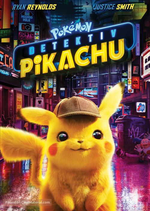 Pokémon: Detective Pikachu - Czech DVD movie cover