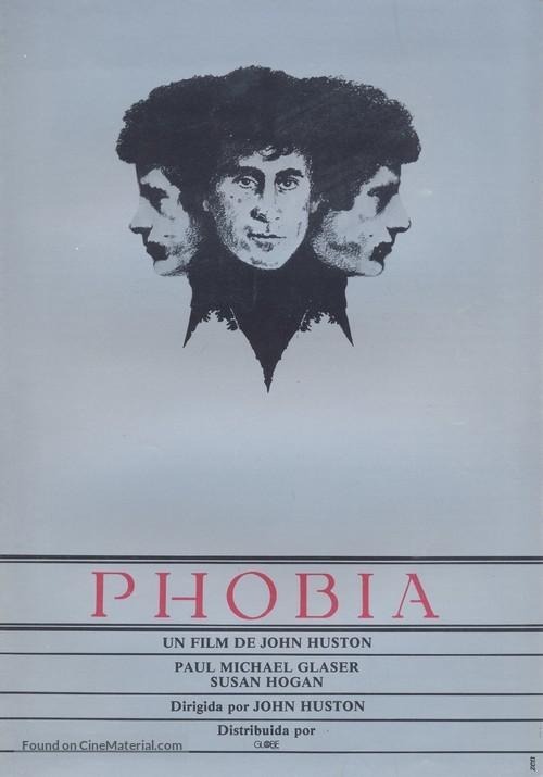 Phobia - Spanish Movie Poster